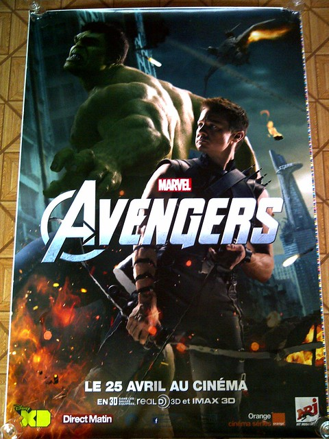 Poster affiche avengers oeil de faucon hawkeye et hulk marvel flickr photo sharing for Poster et affiche