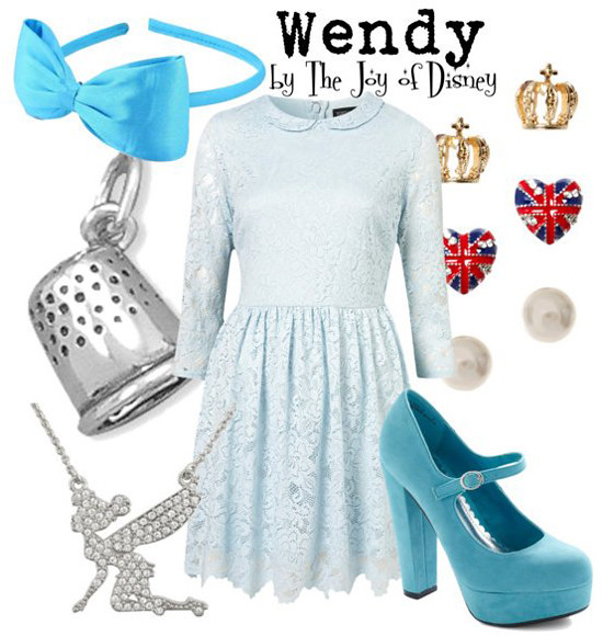Inspired by: Wendy Darling (Peter Pan)