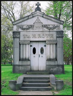 William N. Rowe Mausoleum: Woodmere Cemetery--Detroit MI
