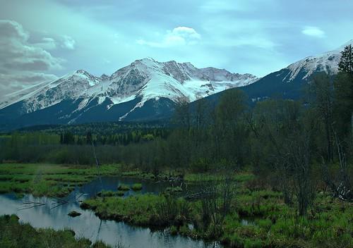 canada mountains britishcolumbia skeena viarail smithers hudsonbaymountain