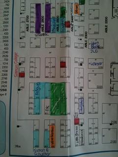 my map of the exhibit floor