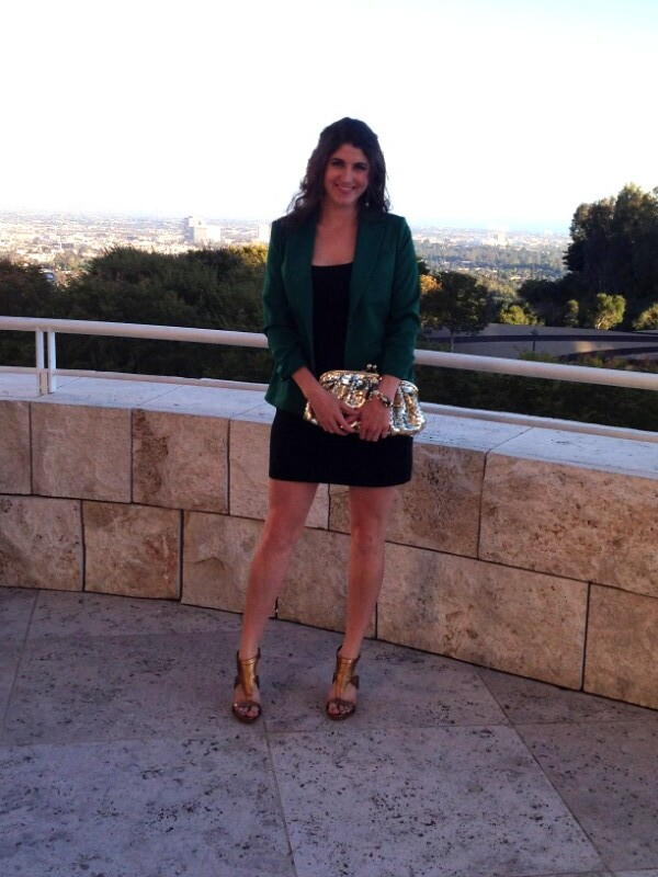 At the Getty