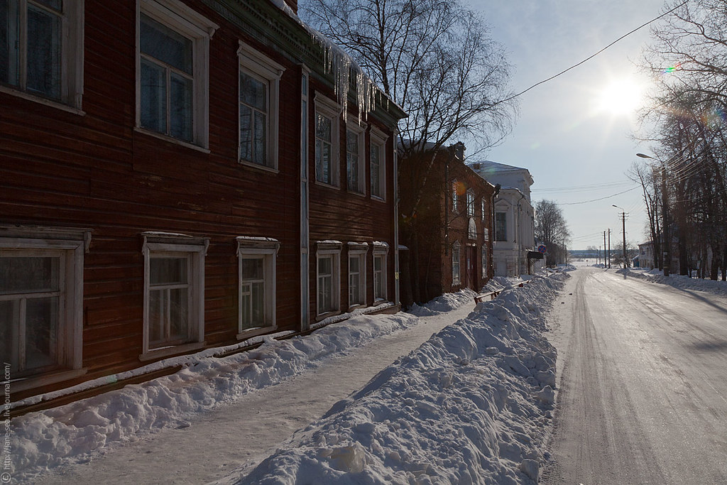 Тихие улочки Каргополя / Quiet streets Kargopol