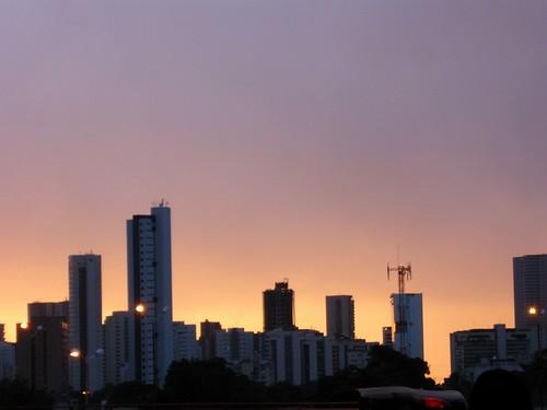 Amanhecer no Recife