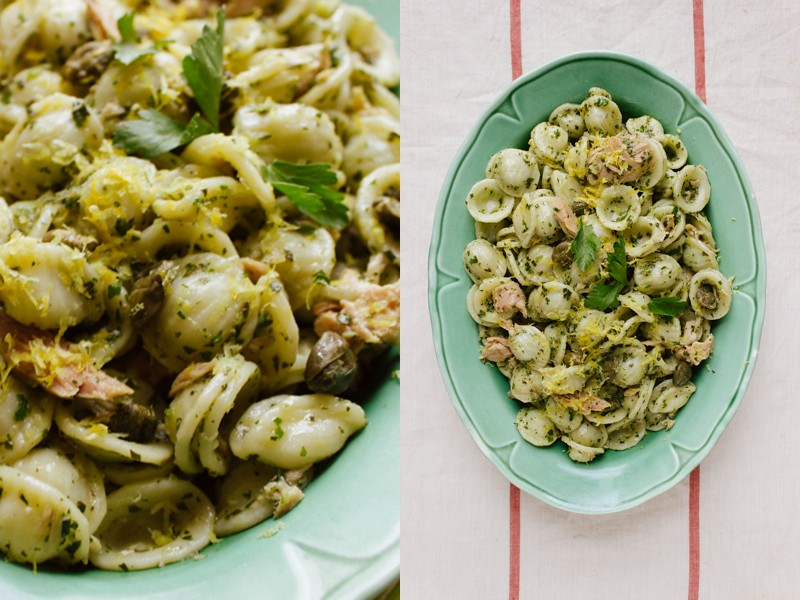 Summer Pasta From The Pantry
