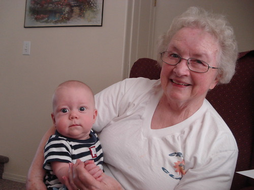 With Gramma-Great Bea