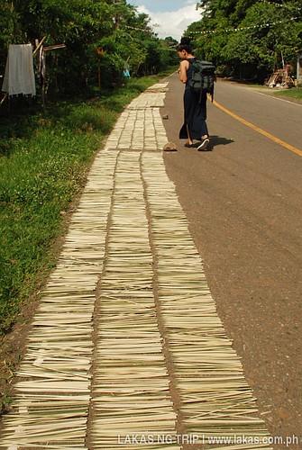 Barbecue sticks on our walk to Dambana ng Kagitingan (Shrine of Valor) at Mount Samat, Pilar, Bataan