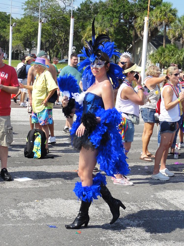 Carnival outfit at Saint Pete pride