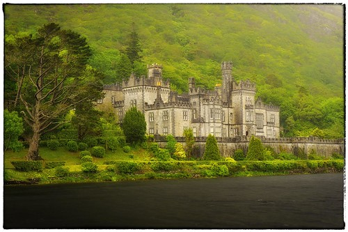 Kylemore Abbey Meets Driving Rain