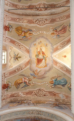 Cornilgia Church ceiling