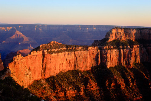 North Rim Golden Hour