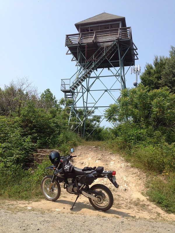 Hurricane Gaps fire tower