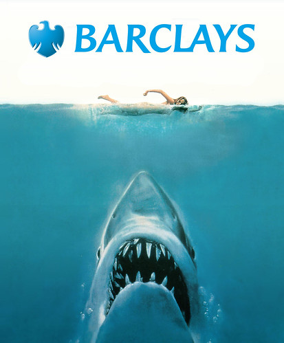 Barclays: We're not sharks by Teacher Dude's BBQ