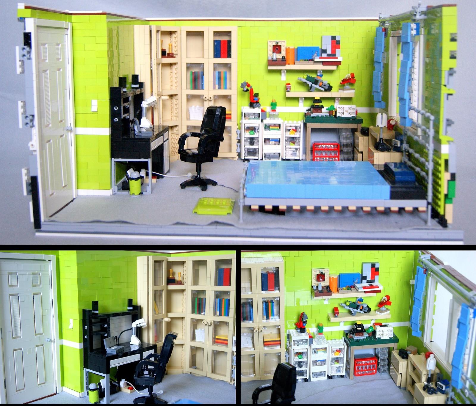 Lego Bedroom Lego Bedroom Bedroom Commission Lego Fan Graffiti Art Workshop