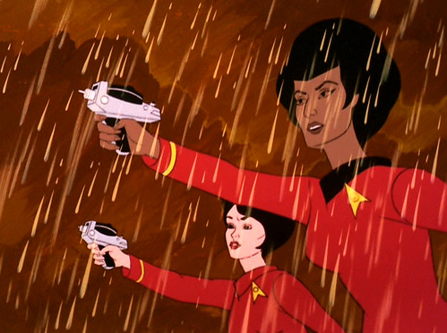 Uhura Takes Command in