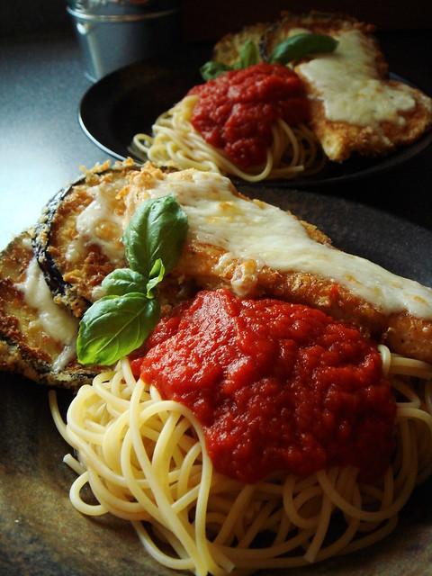 Chicken & Eggplant Parmesan: Viva Italia