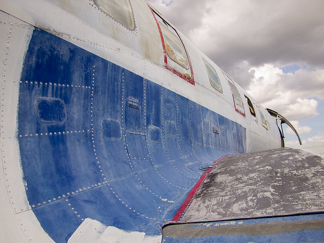 Convair 240 Starboard Wing Root