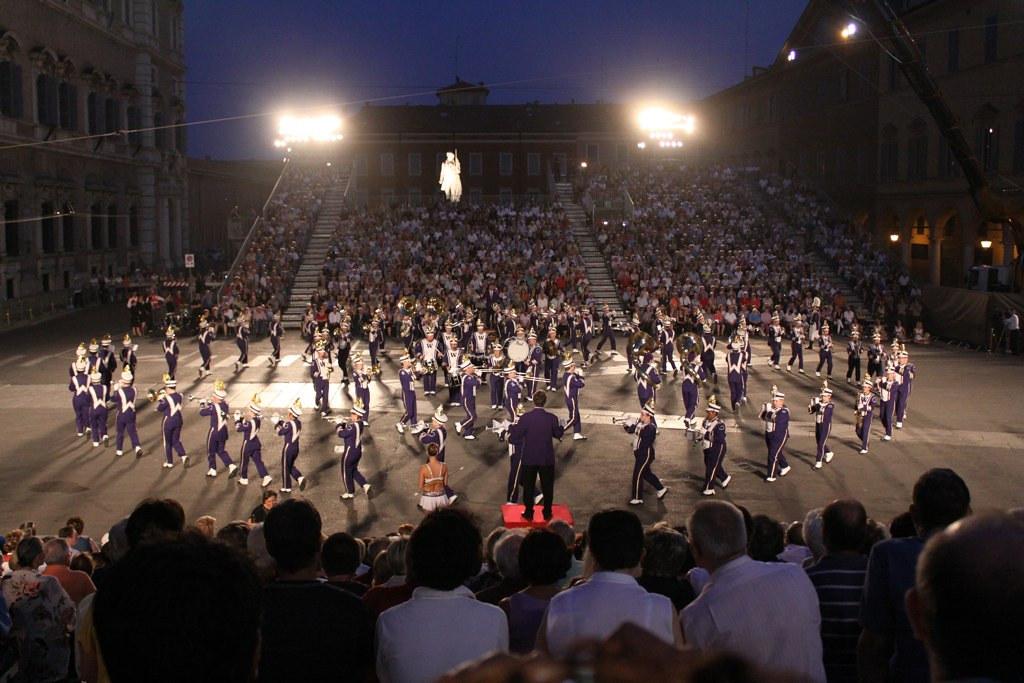 University of Washington Husky Marching Band 2009 Tour of France, Switzerland and Italy