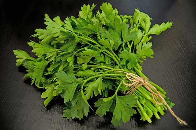 Home grown parsley