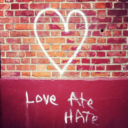 Love Ate Hate #nyc #graffiti
