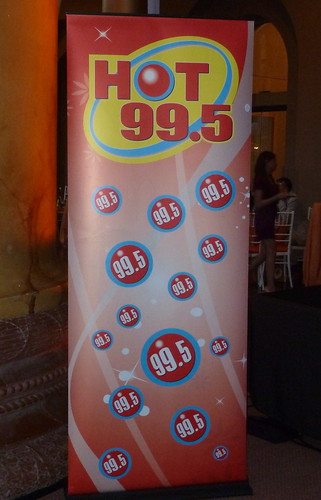 HOT 99.5 kept the energy up with a steady playlist all night