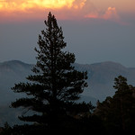 Sunset, San Bernardino Mountains
