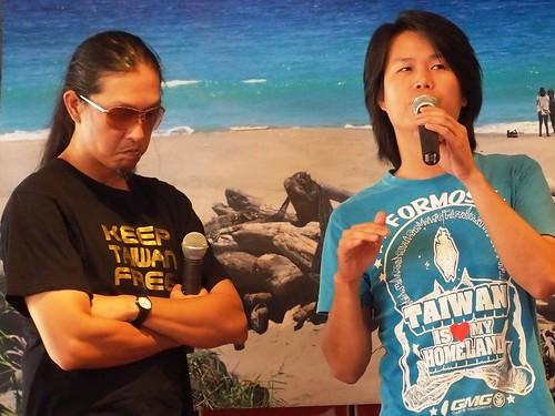 董事長樂團表示,每個人都是台灣的主人,不應只視美麗灣為地方議題,讓地方人民獨力對抗財團,全民應挺身而出。
