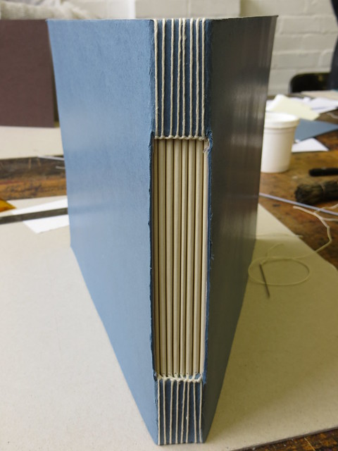 Buttonhole Stitch Bookbinding