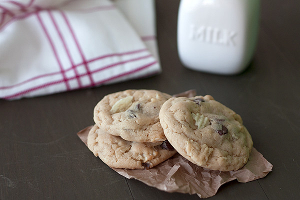 Potato & Chocolate Chip Cookies
