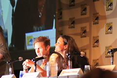Matt Davis & Jessica Lucas from CW's Cult