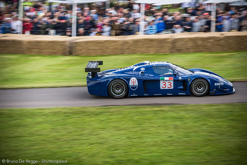 Maserati 12MC on the 2012 Goodwood Festival of Speed.