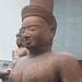 Devine Female (Bakong (Roluos) (Prasat Bakong, Siem Reap)) - style of Preah Ko, Collection Asie du Sud-Est, Musée national des Arts asiatiques Guimet, Paris by Pigalle