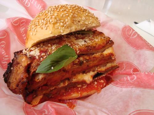 Eggplant Parm Sandwich @ Parm (NY)