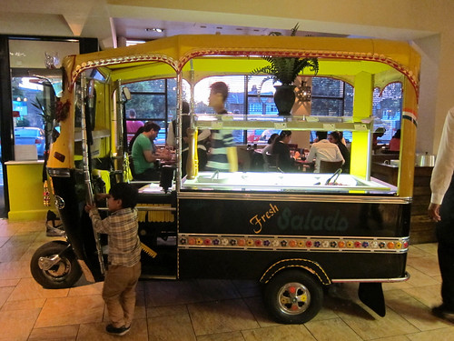 Tuk Tuk Salad Counter