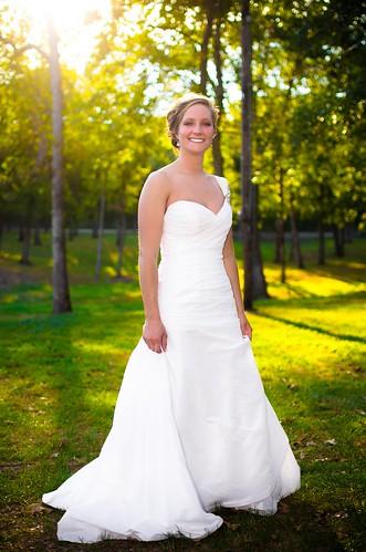 family wedding sunset portrait bride