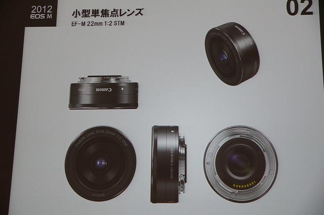 EF-M 22mm 小型単焦点レンズ