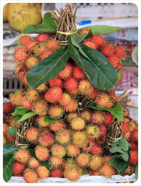 battambang market rambutan