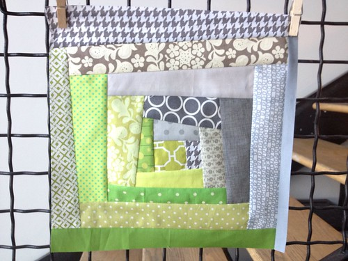 Harmony. Do. Good. Stitches. July Block 2