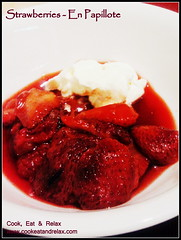 090 strawberry en papillote