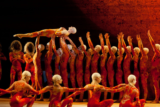 Members of The Royal Ballet in The Rite of Spring.  © ROH/Johan Persson 2011
