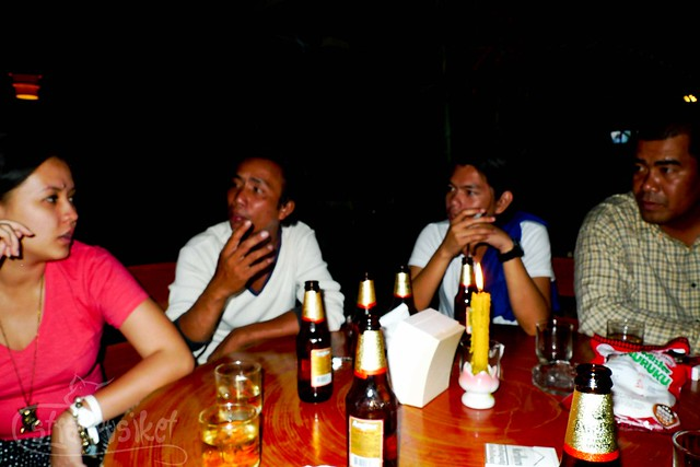 Conversations over Angkor Beer