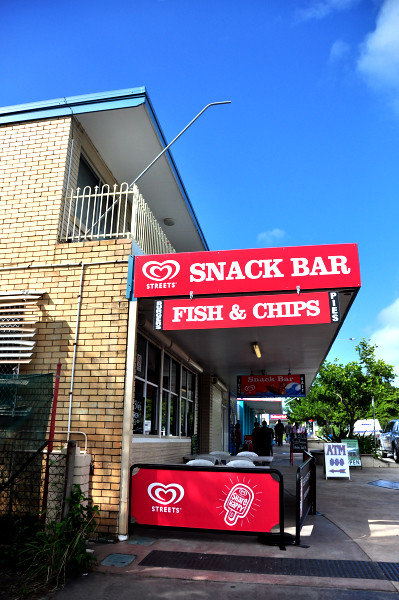 Dunwich's Snack Bar, North Stradbroke Island