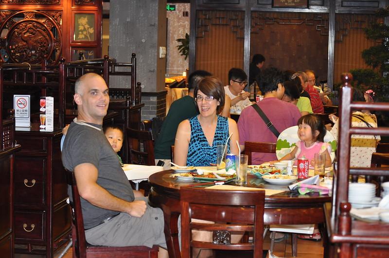 dinner at food street