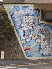 Fresque sous la gare de Chaville Rive Gauche