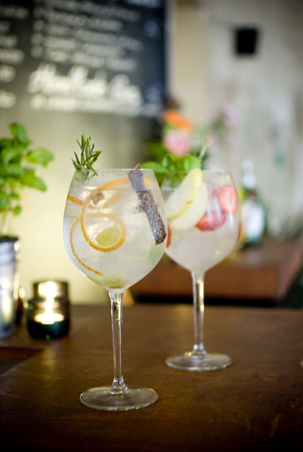 Gin Tonic, Bar o.T. on Flickr