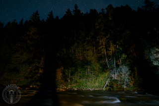 Marble Creek and the stars