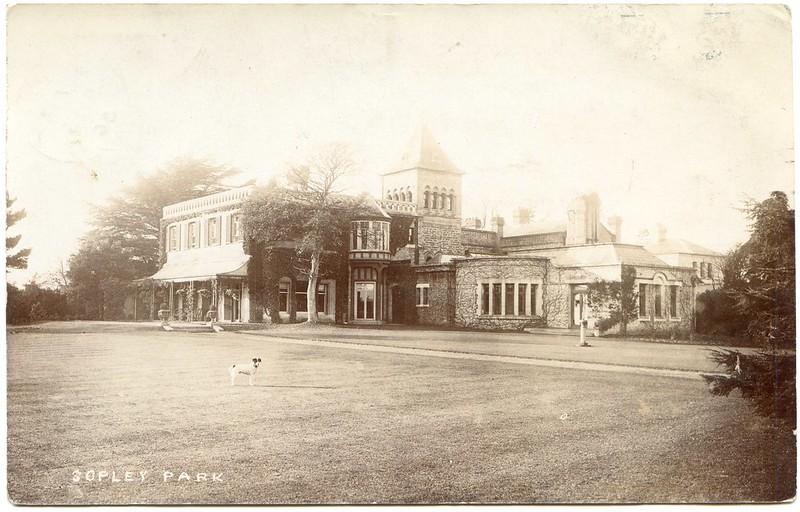 Sopley Park (Sopley Park School), Sopley, Hampshire