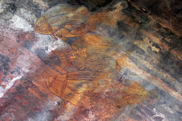 Ubirr Aboriginal Art Site - Kakadu National Park, Northern Territory, Australia