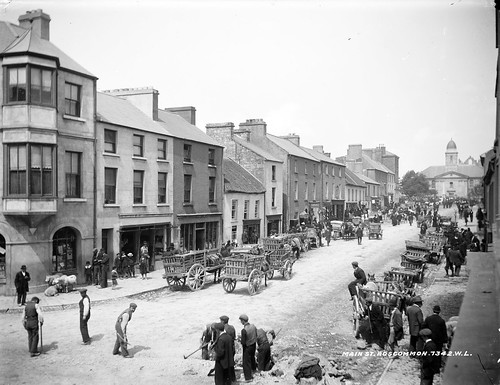 Main Street in Roscommon Town