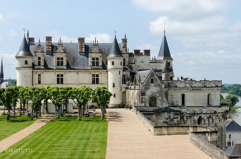 Jardín castillo Amboise